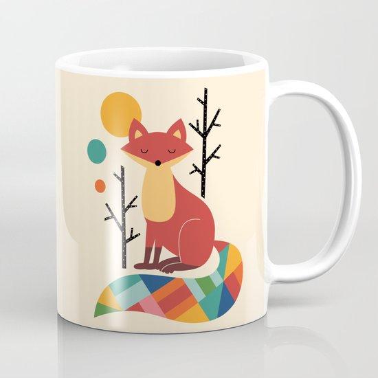 Rainbow Fox Mug