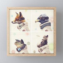 Star Team - Legends of Lylat Framed Mini Art Print