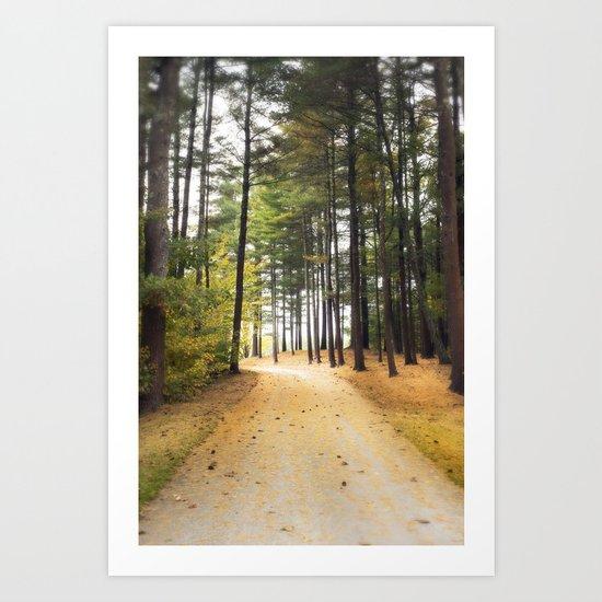 Autumn Invitation Art Print