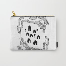 Line Vine Border Community Illustration Carry-All Pouch