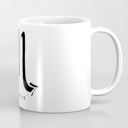 SCORPIO ZODIAC SIGNS #SCORPIO #astrology #symbol #minimalism Coffee Mug