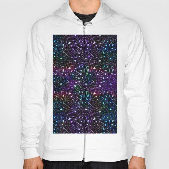 Midnight Rainbow Glitter Hoody