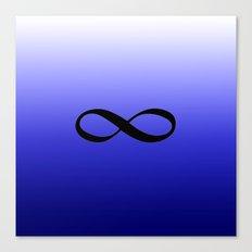 Blue Infinity Canvas Print