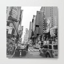 Broadway at West 49th in New York 2012 Metal Print
