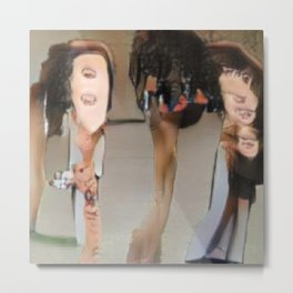 mother laughed more than she cried Metal Print