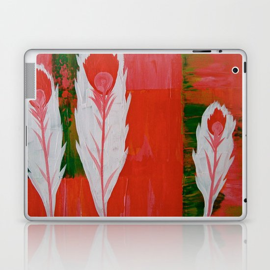 """light as a feather"" Laptop & iPad Skin"