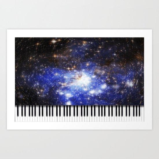 Keys of the Divine Art Print