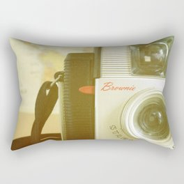 Travel Photographer Rectangular Pillow