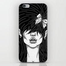 Girl With a Ribbon  iPhone & iPod Skin