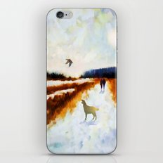 LANDSCAPE - Broadland walk iPhone & iPod Skin