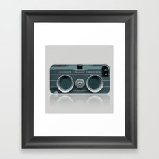 Camera Vintage Stereo  Framed Art Print