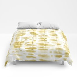 Dye Dash Mustard Putty Comforters