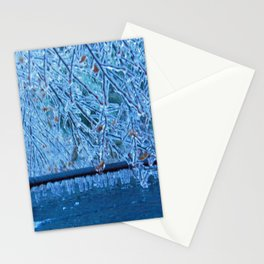 Malibu Icicles Stationery Cards