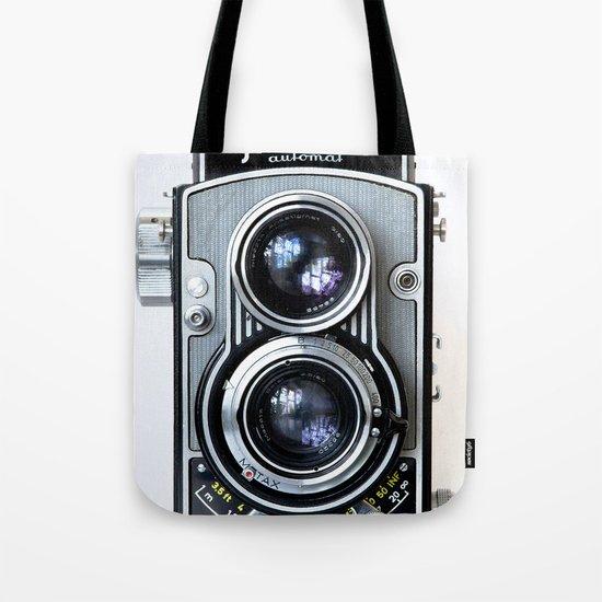 Flexaret Vinatge Camera Tote Bag