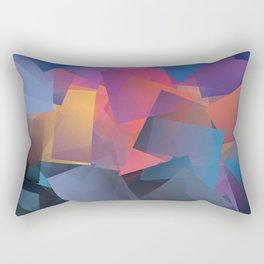Cubism Abstract 179 Rectangular Pillow