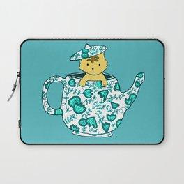 Dinnerware sets - Kitten in a teapot Laptop Sleeve