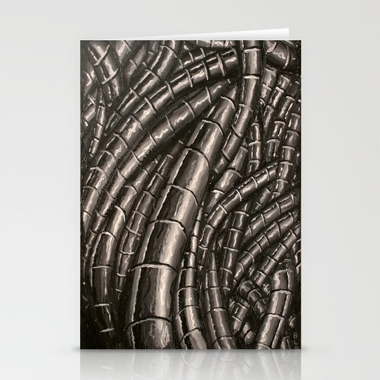 metal cables Stationery Cards