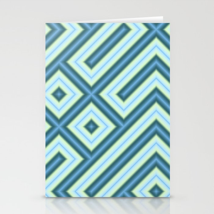 Square Truchets in MWY 01 Stationery Cards