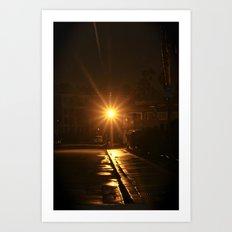 Light at Night Art Print