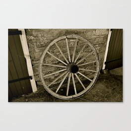 Slower Times Canvas Print