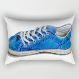 Tenis azulito Rectangular Pillow