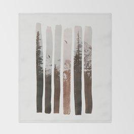 Into The Wild Throw Blanket