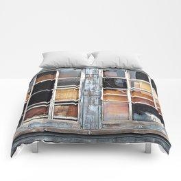 Wood in the Windows Comforters