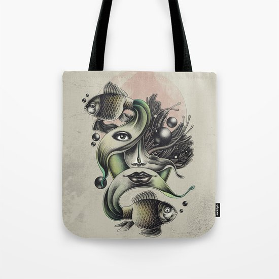 Fish Tale Tote Bag