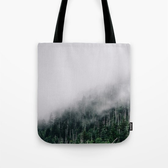 Misty Great Smoky National Park  Tote Bag