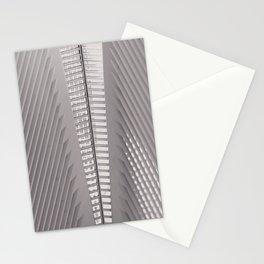 New York City,  Oculus, architecture photo, fine art photography, Manhattan, Calatrava, World trade Stationery Cards