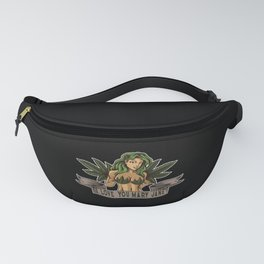 I Love You Mary Jane | Cannabis Weed THC CBD Fanny Pack