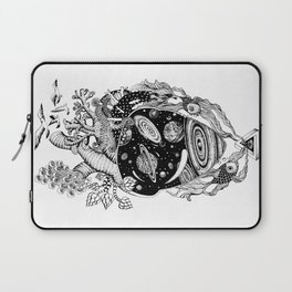 Cosmos Space Heart Laptop Sleeve