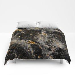 Galaxy (black gold) Comforters