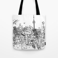 Toronto! (Dark T-shirt Version) Tote Bag