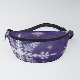 First Snow Flakes Fanny Pack