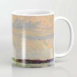 Tom Thomson Misty Sky c. 1913-1914 Canadian Landscape Artist Coffee Mug