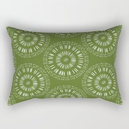Apophenic Art #1 - When the going gets weird, the weird turn pro. Rectangular Pillow