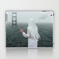 All white Laptop & iPad Skin