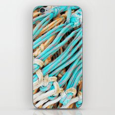 Fishing nets iPhone & iPod Skin