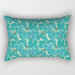 Tropic Pattern Rectangular Pillow