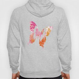 Abstract Paint Pattern Hoody