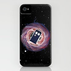 It's the Tardis (Variant): Wormhole Slim Case iPhone (4, 4s)