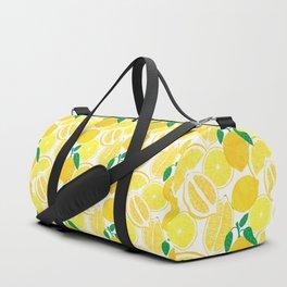 Lemon Harvest Duffle Bag