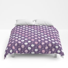 Forest Pattern ~ Cherry Blossoms Comforters