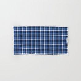 Navy Plaid Hand & Bath Towel