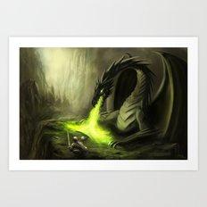 Dragonstone Art Print