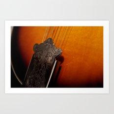 Mandolin Art Print