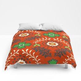 BOHEMIAN FARMHOUSE RED Comforters
