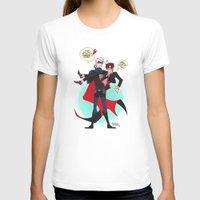 hetalia T-shirts featuring PruMano superheroes by Jackce