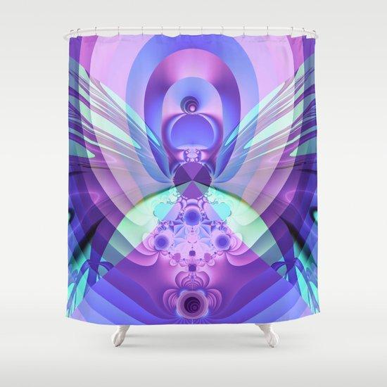 Wings like a Butterfly Shower Curtain
